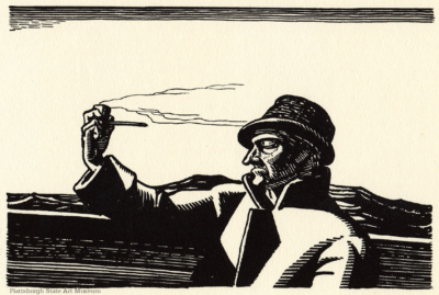 The Pipe - Rockwell Kent