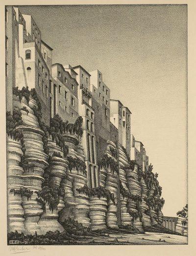 Escher Tropea Calabria 1931