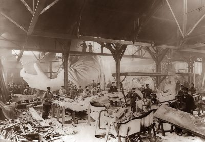 Making the Statue of Liberty France 1884